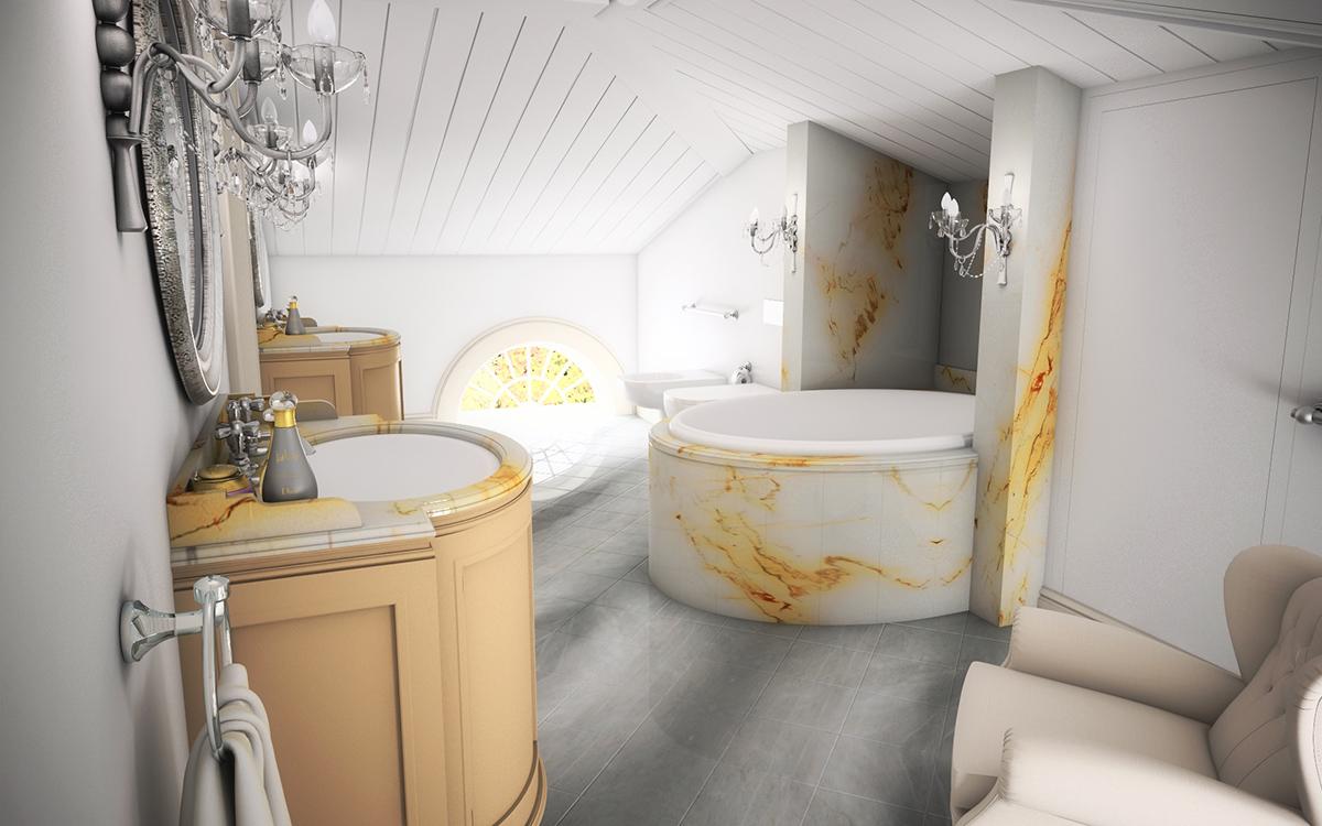 łazienka W Kamieniu Colormedia