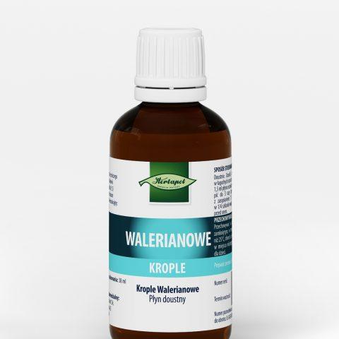 gt17-0103 Herbapol butelka WALERIANOWE